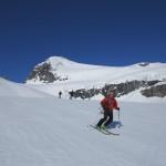 Descente du glacier Durand