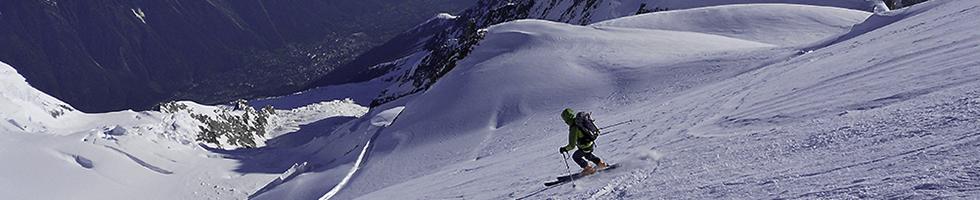 Ascension du Mont Blanc à ski
